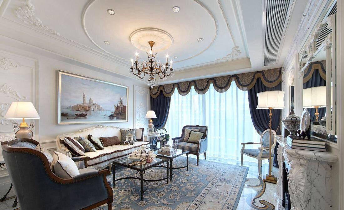 客厅里面搭配什么样的吊灯好看
