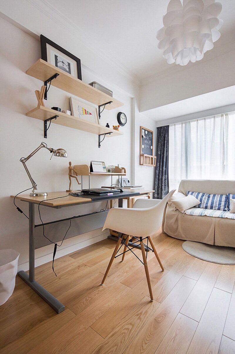 小卧室里面怎样装修出一个书房