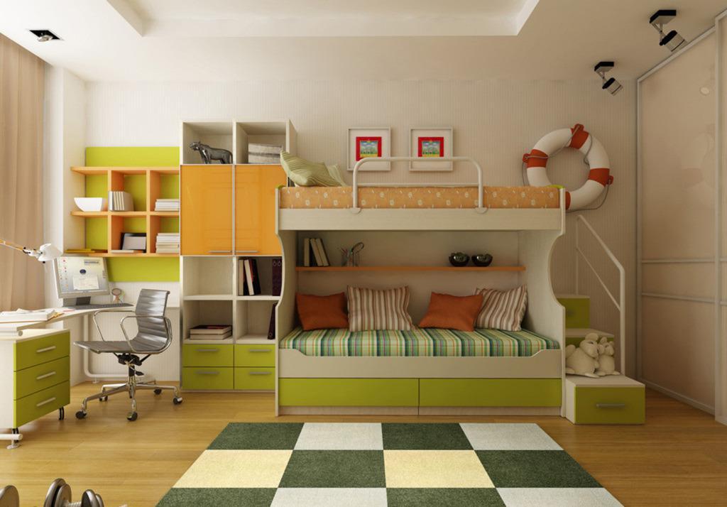 儿童房间布置 不同风格布置特征图