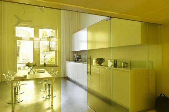 打造实用美观的厨房隔断玻璃门设计