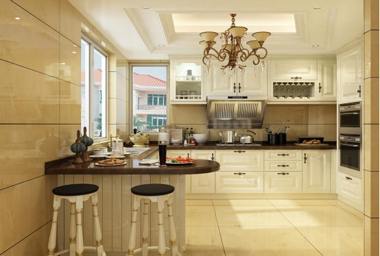 美观的厨房装修设计推荐 厨房装饰效果图