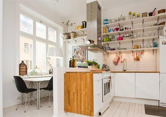 装修影响心情 美观的厨房隔断设计