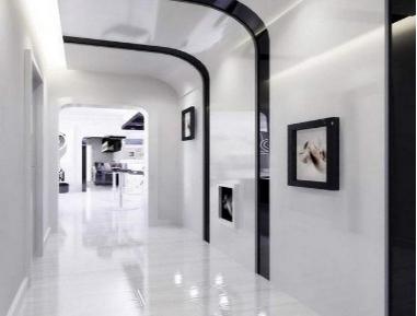 客厅过道吊顶的装修方法及效果图赏析