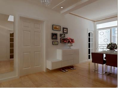 轻松几步设计属于自己的进户门玄关