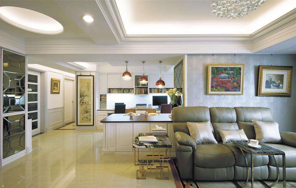 客厅装修出不同风格的吊顶