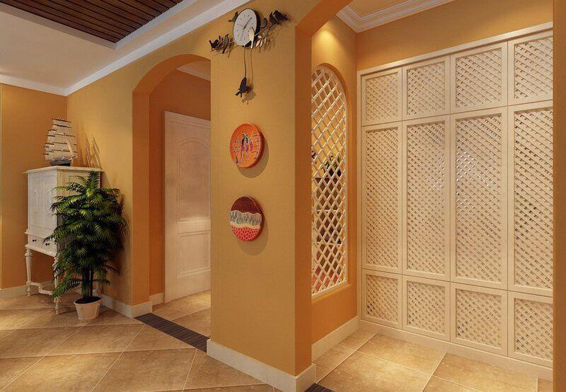 打造出漂亮的入户玄关隔断