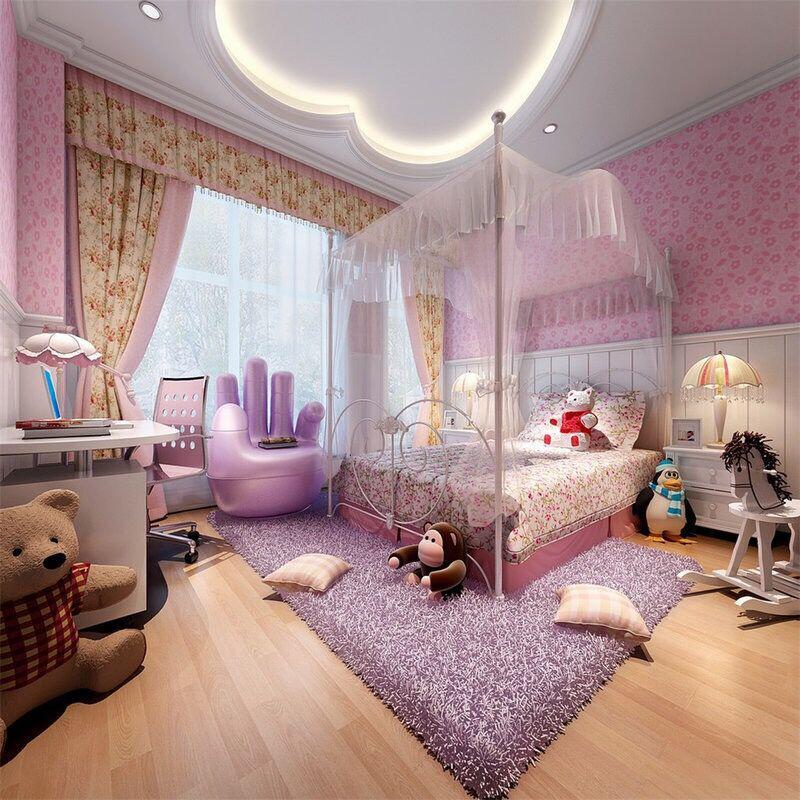 装修出一个梦幻儿童公主房