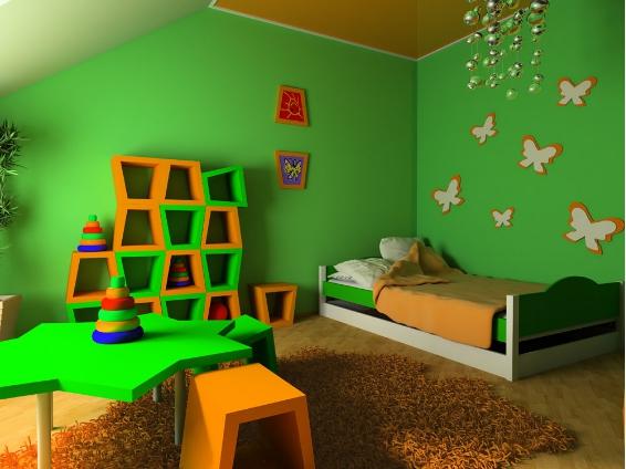 儿童房装修设计图 好看的儿童房间装修