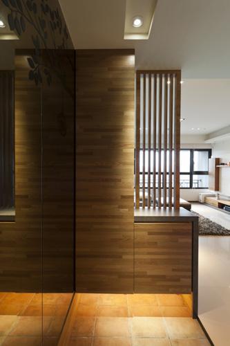 风格多样的玄关柜子设计图
