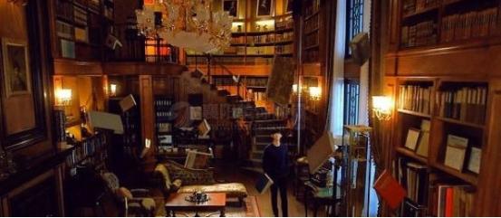 复古风席卷室内装修书房设计