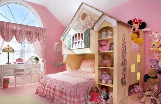 韩式风格打造儿童房设计公主房