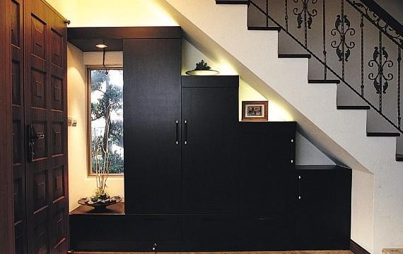 各种各样的玄关柜子装修效果图