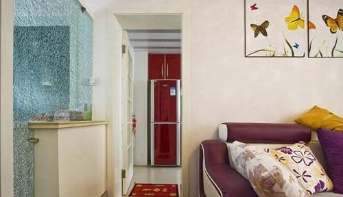 高贵典雅的欧式玄关柜设计装修图