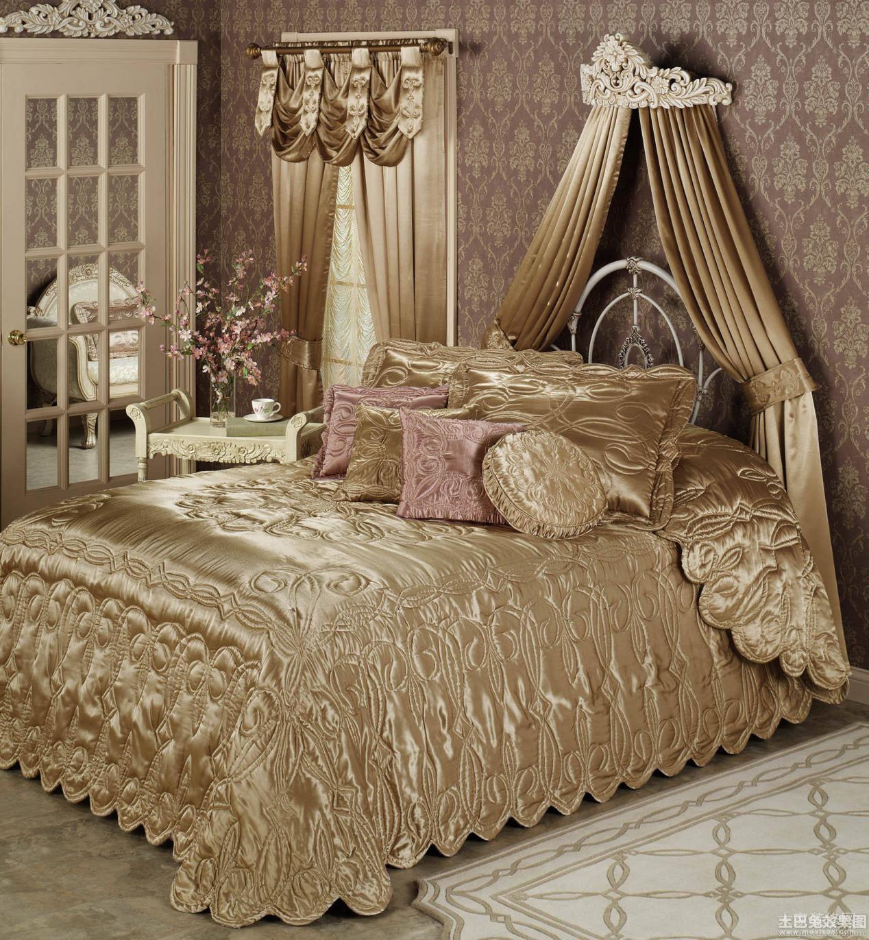 豪华公主卧室,满足孩子的公主梦