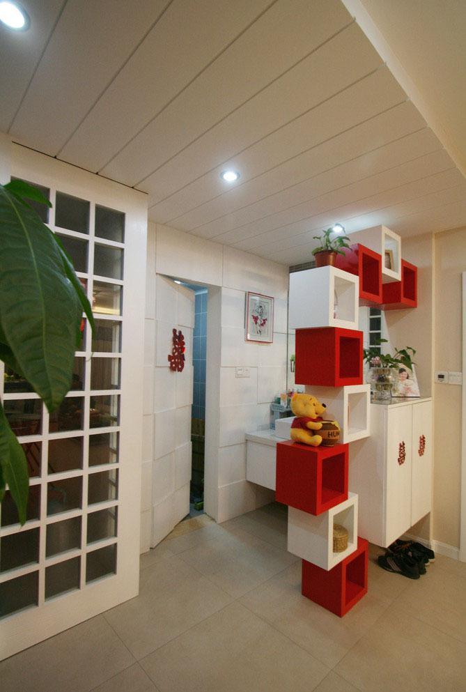 风格各式的玄关柜设计图