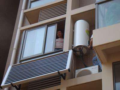 阳台壁挂太阳能热水器维修更方便