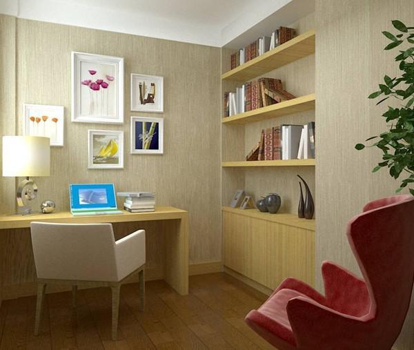 给我那个不大的家来个小书房设计