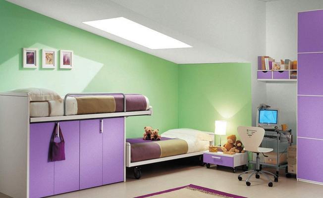 儿童房间装修效果图实例