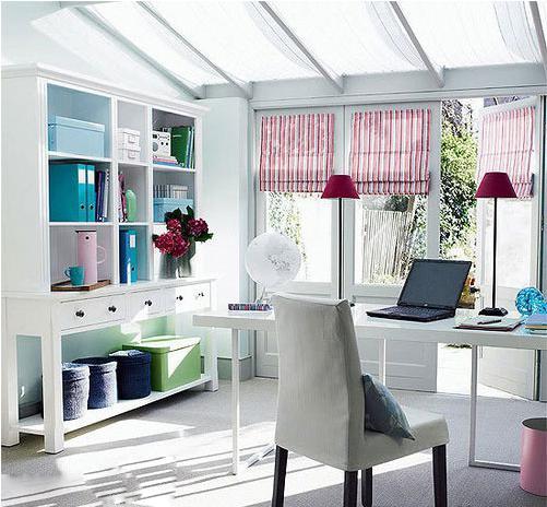 圆一个书房梦优雅系书房设计