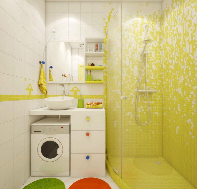 小型卫生间使用什么样的瓷砖装修