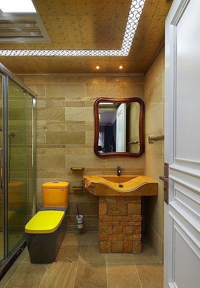 不同风情类型的卫生间图片