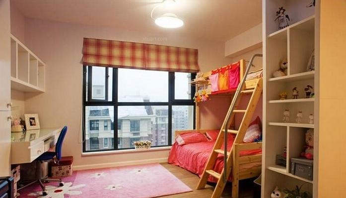 交换空间儿童房的一些装修效果图