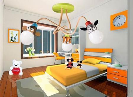 儿童房的照明细节从三方面体现