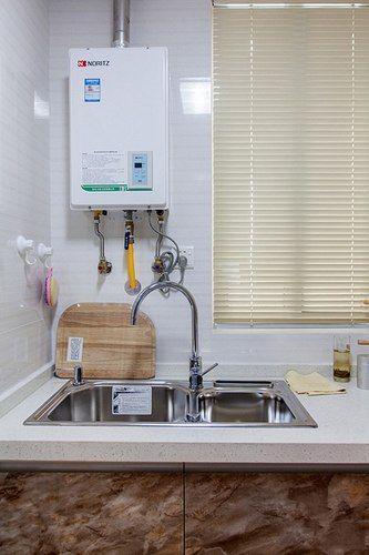 如何让厨房热水器不突兀