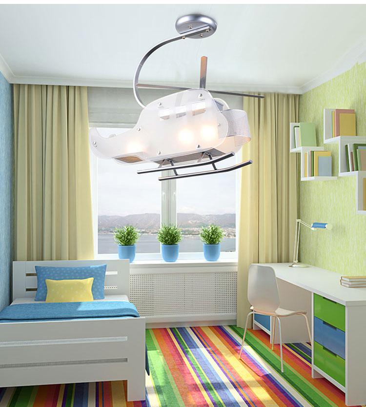 吊灯打造独特儿童房间照明