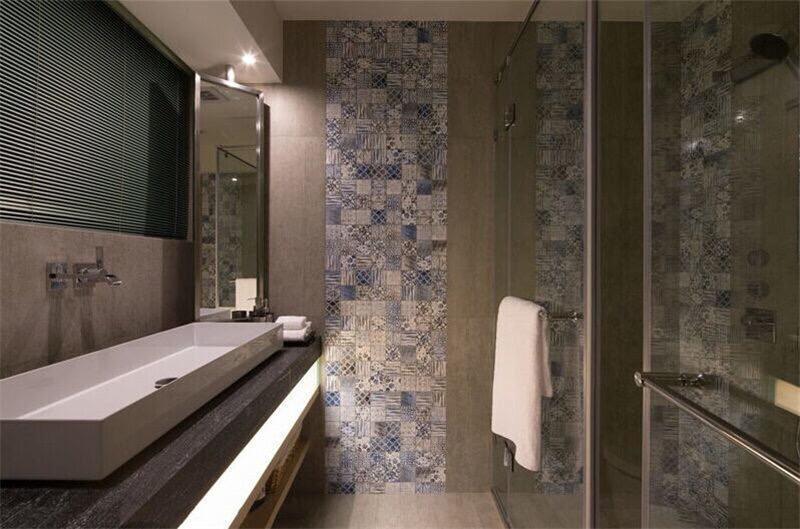 风格各异的卫生间装修效果