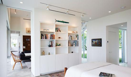 卧室隔断隔而不断好设计