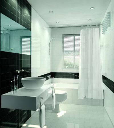 简便实用的小卫生间装修设计图