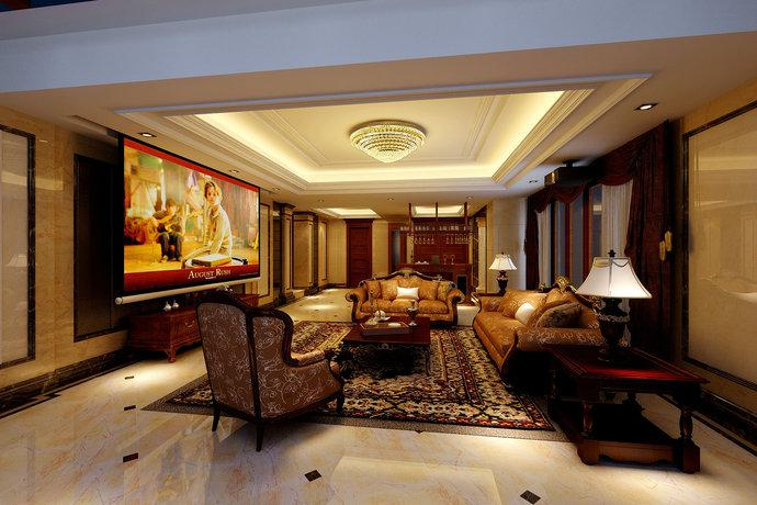 欧式装修设计客餐厅  更显卓越风格