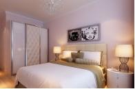 卧室床头挂画 考虑主题和色调