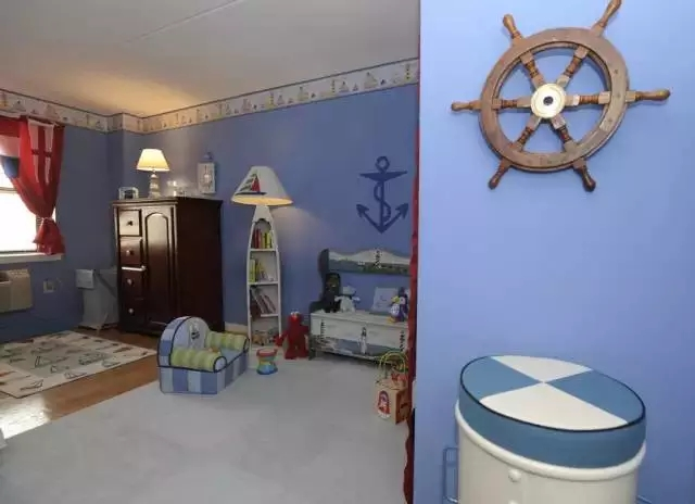 【效果图】海洋儿童房风格