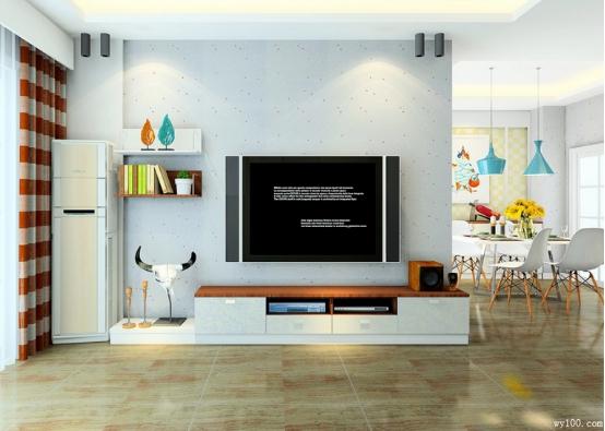 客厅设计 抢占电视背景墙