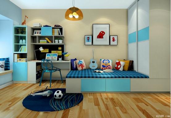 儿童房设计 色彩缤纷无极限