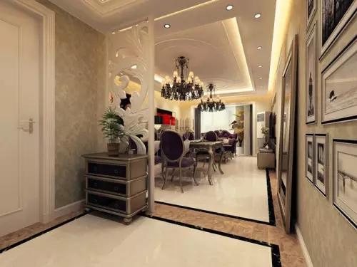 设计玄关的风格 注意搭配室内装修