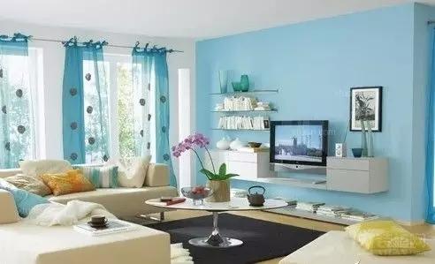 客厅墙壁颜色搭配小技巧