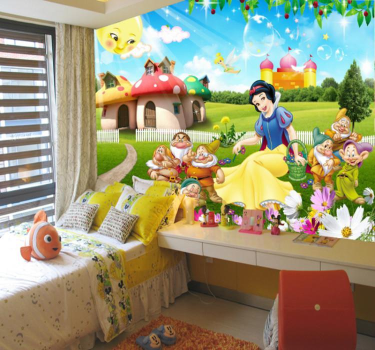 如何打造出白雪公主儿童房