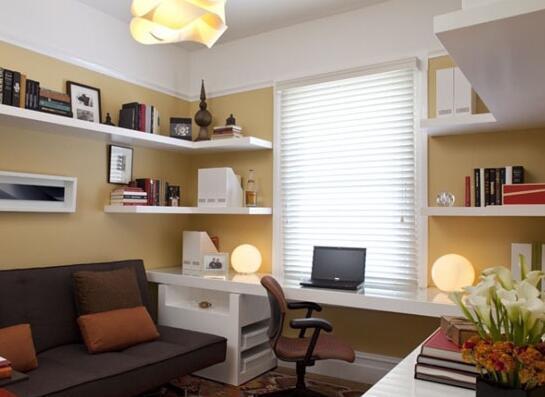 看超小书房装修效果图 让你的设计更实用