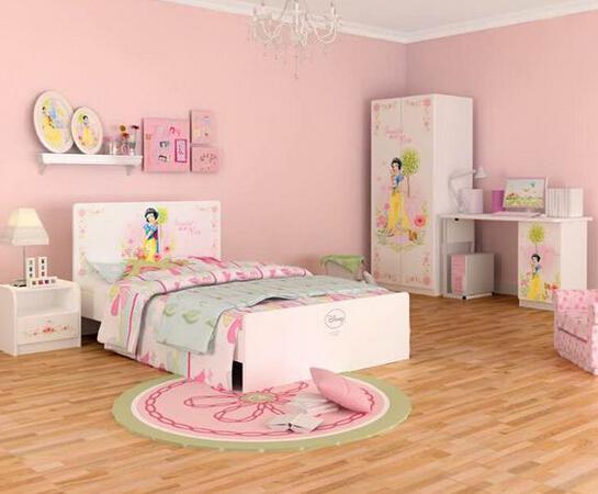 如何将迪士尼元素放到公主儿童房中