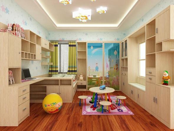 女孩们喜欢什么样的儿童房装修效果