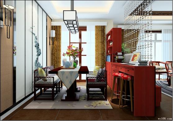 客厅和餐厅隔断 分区妙招大放送