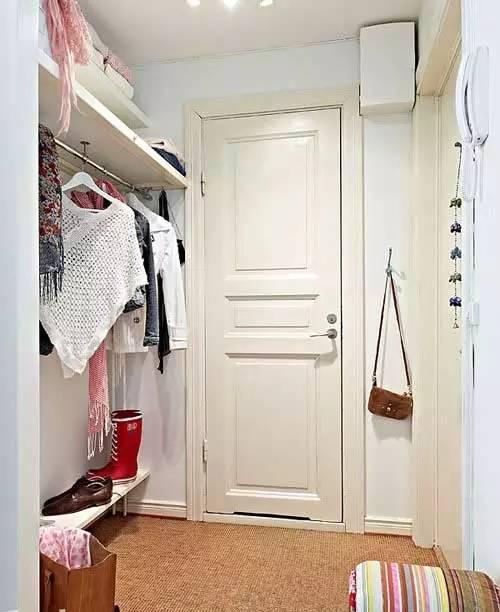入户玄关鞋柜隔断装修设计效果图高清图片