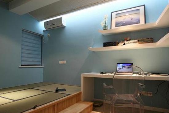 小户型卧室榻榻米装修效果图高清图片