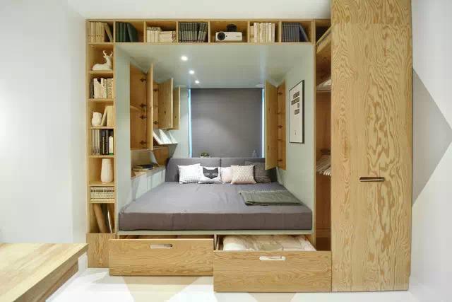 特小书房装修效果图 巧妙的装修小书房