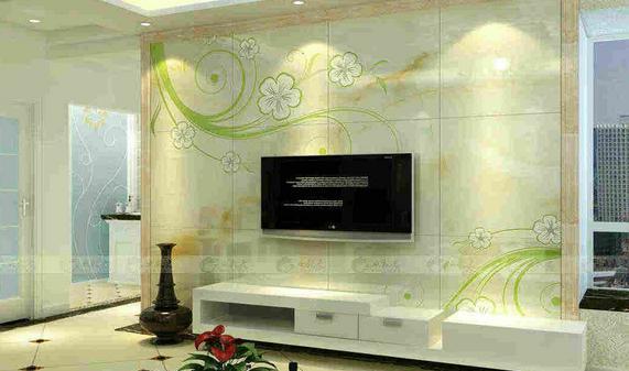 客厅电视背景墙瓷砖选购,真后悔没早点看到