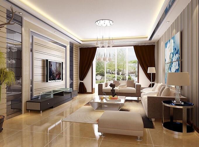 感受客厅装修效果 打造更有质感的生活
