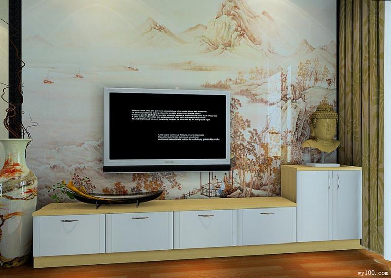 客厅电视背景墙效果图,美呆了!